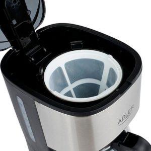 Капельная кофеварка, ADLER, 550 Вт
