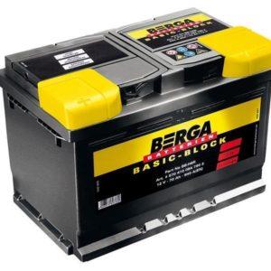 Аккумулятор Berga Basic Block 60Ah (560 412 051)