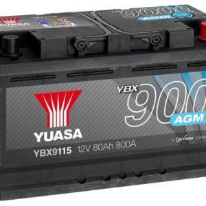 Аккумулятор Yuasa YBX9115