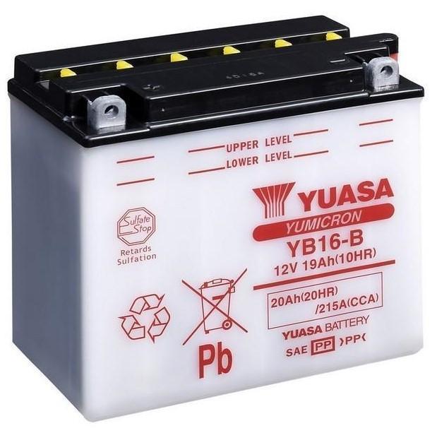 Аккумулятор Yuasa YB16-B