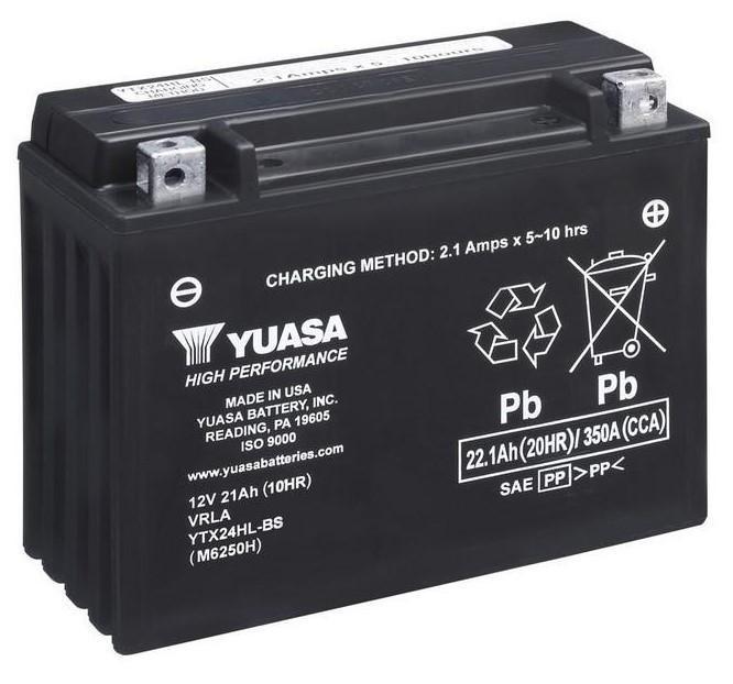 Аккумулятор Yuasa YTX24HL-BS