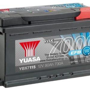 Аккумулятор Yuasa YBX7115