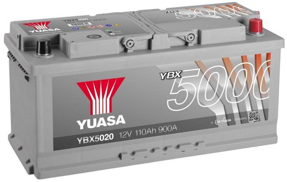 Аккумулятор Yuasa YBX5020
