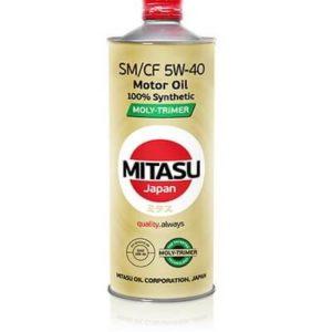 Масло MITASU  5W40 MOLY-TRiMER SM/CF 1L