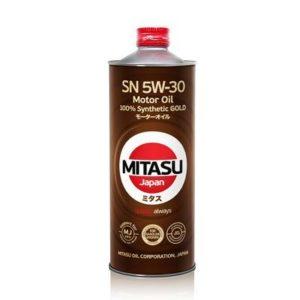 Масло MITASU  5W30 GOLD SN GF-5 Dexos1 1L