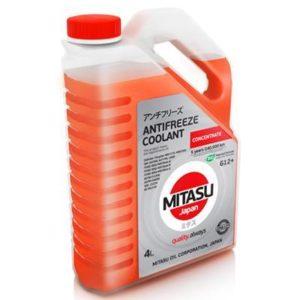 Антифриз MITASU G12+ OEM RED концен. 4L