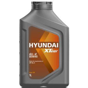 Масло Hyundai 80W90  Xteer Gear Oil GL-4  1L