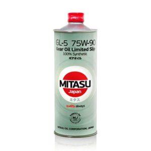Масло MITASU 75W90 GL-5 LSD 1L