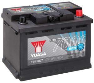 Аккумулятор Yuasa YBX7027